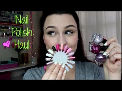 Nail Polish Haul ♥ March 2017