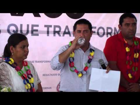 Palabras del Presidente Municipal de Taxco