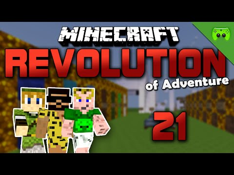 MINECRAFT Adventure Map # 21 - Revolution of Adventure «» Let's Play Minecraft Together | HD