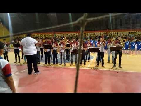 Filarmônica Elizaldo Rodrigues Dos Santos Tocando Hino De Ipanguaçu/Em '