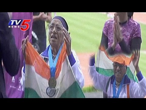 101-Year-Old Indian Woman Wins Gold Medal In 100 Meter Race | Auckland, New Zealand