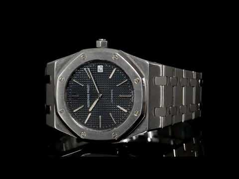 Men's Stainless Steel/White Gold Audemars-Piguet Royal Oak Jubilee Automatic Wristwatch