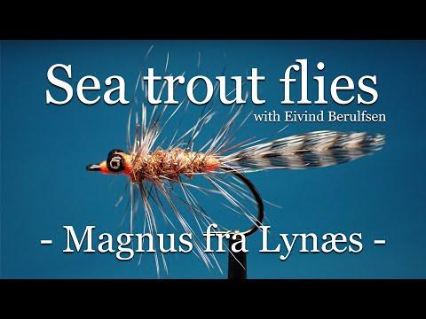 Sea trout flies. The Magnus fra Lynæs. Fly tying with Eivind Berulfsen.
