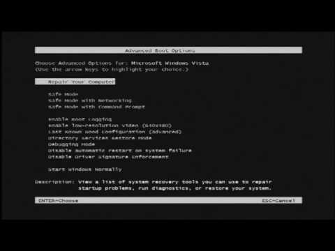 Computer Technology : How to Start Your Windows Computer in DOS