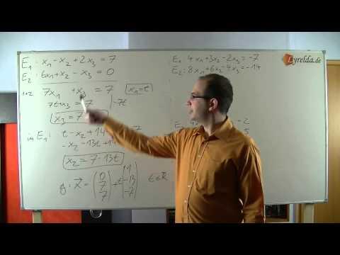 Schneiden von 2 Ebenen (Lösung)
