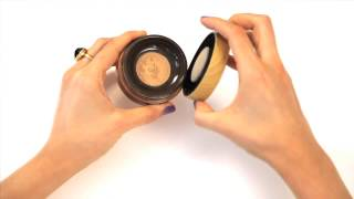 Amazonian clay full coverage airbrush powder foundation