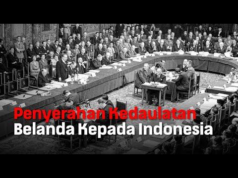 Penyerahan Kedaulatan Belanda Kepada Indonesia