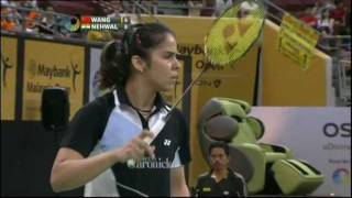 SF - WS - Wang Yihan vs Saina Nehwal