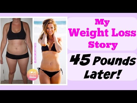 My Weight Loss Story – How I Lost 45 Pounds & Changed My Life!