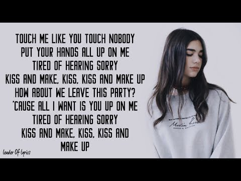 Dua Lipa & BLACKPINK - Kiss And Make Up (Lyrics)