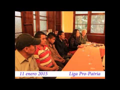 "Video. ""Conferencia de víctimas de San Pablo (1 de 2)"" (11 ene 2015)"