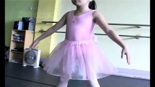 Lucunya Afiqah Les Menari Balet