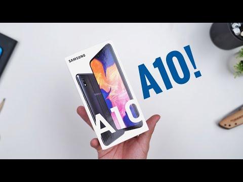 Rp1.799 Juta!!! Unboxing Samsung Galaxy A10!