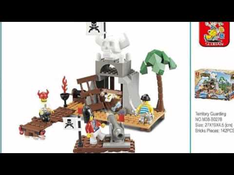 Video Pirate Territory Guarding 142 Piece Set now online at YouTube