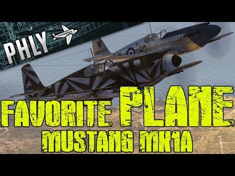 War Thunder – Mustang MK1A Gameplay – MY Favorite Plane! War Thunder Gameplay