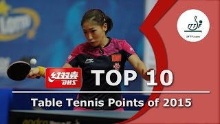 Video Top 10 Table Tennis Points of 2015 MP3, 3GP, MP4, WEBM, AVI, FLV Januari 2019