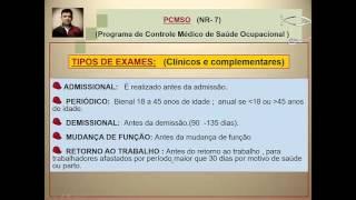 Vídeo 57 -  Pilares do PCMSO - Mário Paulo Perito
