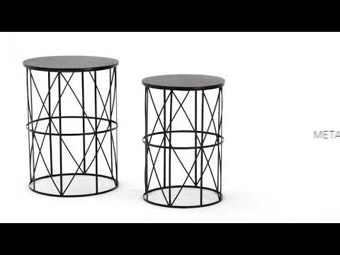 Marxim T506-211 Nesting End Tables