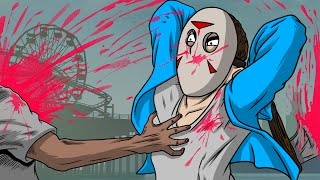 GTA 5 Next Gen - Spooky Murder Cave! (Funny Moments)