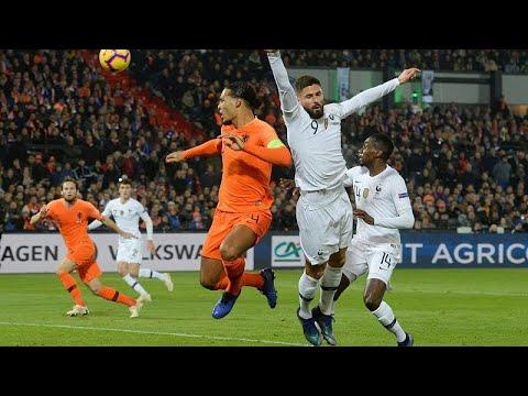Fußball-Nationenliga: Niederländer glänzen, Deutschland steigt ab