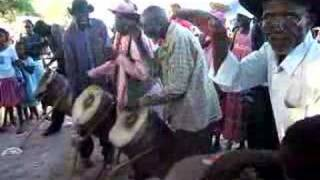 Traditional drumming.