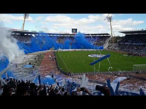 Recibimiento talleres contra Belgrano - La Fiel - Talleres - Argentina - América del Sur