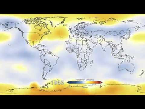 Changing Global Surface Temperature Anomalies, 1880 To 2012 – NASA