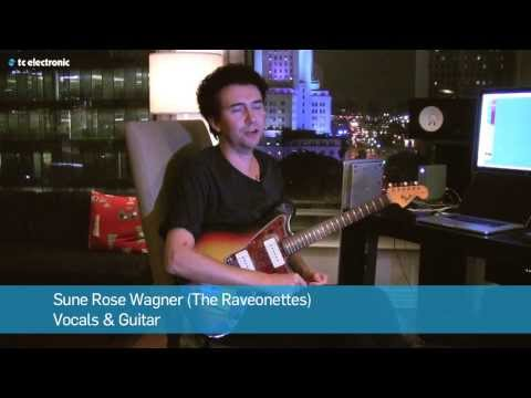 "Sune Rose Wagner (The Raveonettes) demoes his ""Tarantula"" Reverb TonePrint"