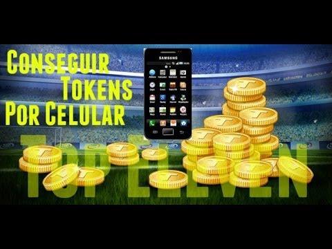 Top Eleven-Como conseguir tokens [Celular]