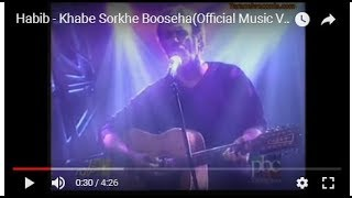 Khabeh Sorkheh Booseha Music Video Habib