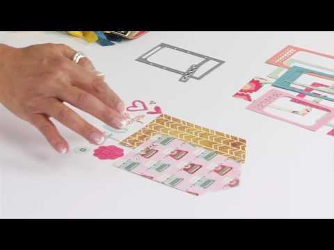 Sizzix - A Closer Look: Decorate and Display Mini Photos