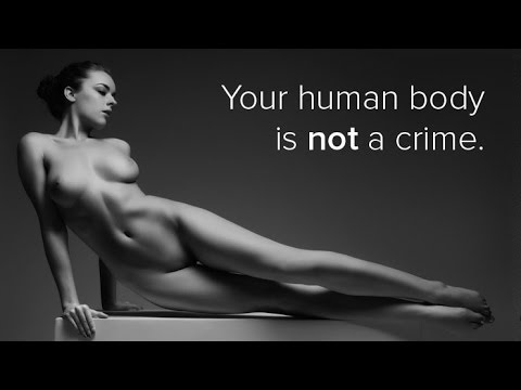 Uncensored: Your naked body is not a crime. Is nude art photography obscene? (видео)