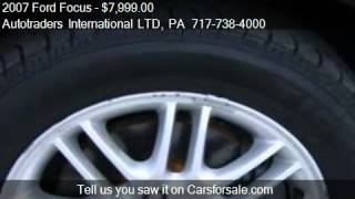 2007 Ford Focus SE - for sale in Ephrata, PA 17522