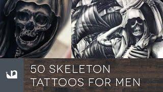 Video 50 Skeleton Tattoos For Men MP3, 3GP, MP4, WEBM, AVI, FLV Agustus 2018