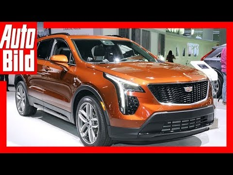 Cadillac XT4 (NYIAS 2018) Sitzprobe / Review / Detail ...