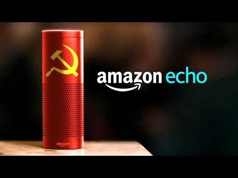 Introducing Communist Amazon Echo (видео)