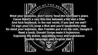 La Coka Nostra - Mind Your Business Lyrics
