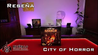City of Horror - Reseña - En tiempo record
