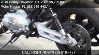 9. 2010 Harley Davidson XR1200 black for sale in PLANTATION, FL