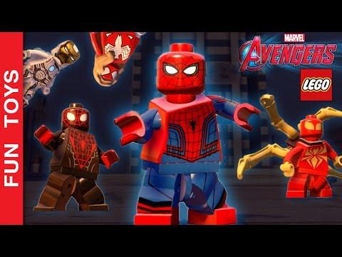 TODOS os Uniformes do HOMEM ARANHA do jogo LEGO Marvel's Vingadores   armaduras HOMEM DE FERRO   DLC:  Neste vídeo mostramos todos os Uniformes do Homem Aranha do Jogo LEGO Marvel's Avengers. Mostramos também algumas armaduras do Homem de Ferro que ficaram de fora por serem dos DLCs!Mostramos todos uniformes, inclusive a Aranha de Ferro e o Uniforme do Homem Aranha que aparece no Capitão América: Guerra Civil! E do Homem de Ferro a Mk46 que também é do filme e até a Homem de Ferro Espacial! Achei que é a mais maneira!Comente abaixo, qual uniforme e armadura que você mais gostou neste vídeo.Se você não viu o outro vídeo onde mostrarmos TODAS as armaduras do Homem de Ferro, clique neste link aqui: http://www.ascendents.net/?v=lTRzmSsi8w0&list=PL2edokDcUWHLRrau5wZfxiP5gZjU7EHhACompre Brinquedos Lego dos Vingadores: http://bit.ly/Lego_Avengers Mostramos o Peter Parker, o Miles Morales, a Garota Aranha, a Aranha Escarlate, a Aranha de Ferro que o Homem de Ferro faz para o Homem ARanha, e o Uniforme do Homem Aranha que aparece no Capitão América: Guerra Civil!E do Homem de Ferro, mostramos a Mk38, azul e muito irada, o Homem de Ferro Clássico, a Mk46 que aparece no filme Capitão América: Guerra Civil, a Homem de Ferro Mergulhador e Homem de Ferro Espacial, estas duas últimas são as que mais gostei!!!Não se esqueça de dar um JOINHA no vídeo, MOSTRAR este vídeo para seus amigos e parentes e de se INSCREVER no canal clicando neste link: http://www.youtube.com/funtoysbrinquedosvideos/videos?sub_confirmation=1SIGA-NOS / FOLLOW US: 😀 😅 😉 😍 😗 😜 😎✦Subscribe: http://www.youtube.com/channel/UCVOq9DX3BL9bBU9FrG5MpMA?sub_confirmation=1✦Twitter: http://twitter.com/FunToysBrinque✦Google+: http://goo.gl/QVmgp0✦Instagram: http://instagram.com/fun_toys_brinquedos/✦Blog: http://festadeideias.com.br/Fun_Toys_Brinquedos/✦Facebook: http://www.facebook.com/Fun.Toys.Brinquedos.YT✦Veja outros vídeos legais:- Hulk vs Hulkbuster:http://www.ascendents.net/?v=eWoguD59Pio&list=PL2edokDcUWHLRrau5wZfxi