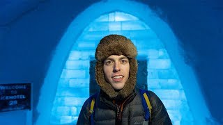 COLDEST HOTEL ON EARTH!!!