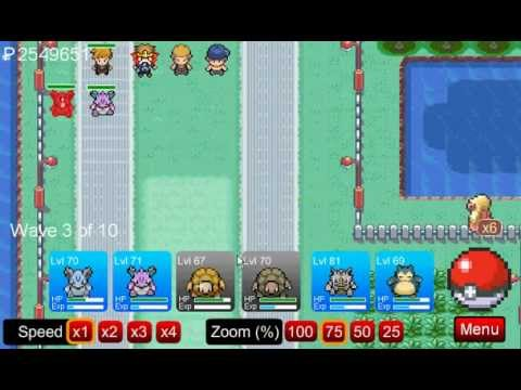 Pokemon Tower Defense:Chapter 6 - Route 17 Walkthrough