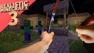 Video Realistic Minecraft 3 ~ The Town Invasion MP3, 3GP, MP4, WEBM, AVI, FLV Mei 2018