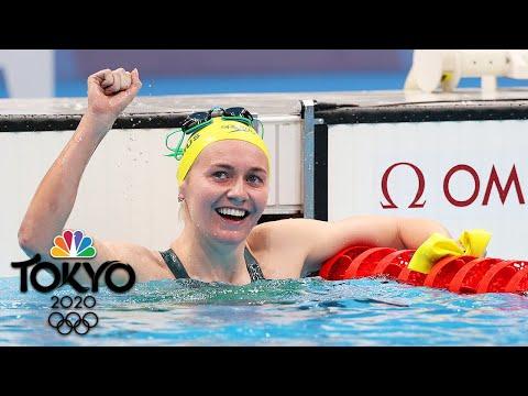 Ariarne Titmus dethrones Katie Ledecky for women's 400m freestyle gold | Tokyo Olympics | NBC Sports