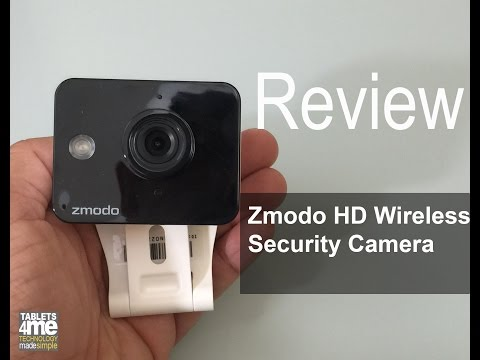 Zmodo Mini WiFi 720p HD Wireless Indoor Home Video Security Camera