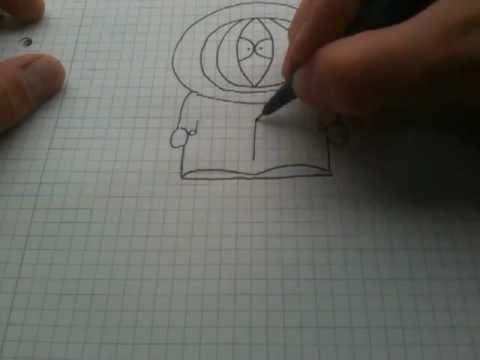 Kenny von Southpark zeichnen lernen / Kenny malen