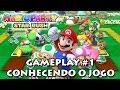 Mario Party Star Rush Gameplay 1 Conhecendo O Jogo