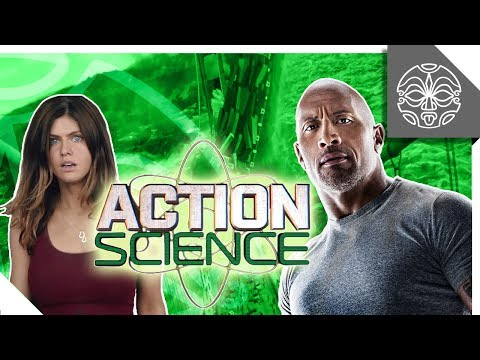 ACTION SCIENCE: The Rock vs. a Tsunami in