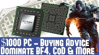 $1000 High End PC Gaming System October 2013 - Dominate Battlefield 4 AC 4&Batman AO