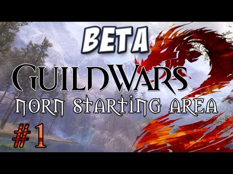 Yogscast – Guild Wars 2: Norn Part 1 – Character Creation and Starting Cutscene